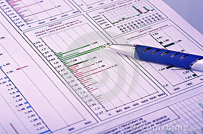 Financial report summary