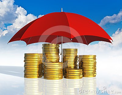Financial stability and business success concept