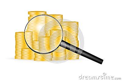 Financial status scanning