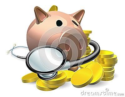 Financieel gezondheidscontroleconcept