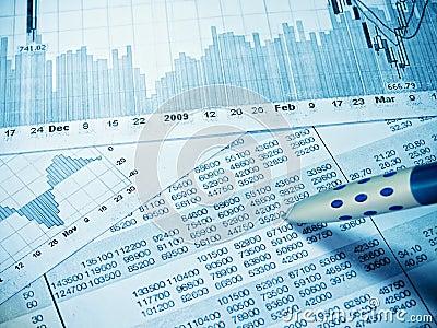 Finansiellt diagram