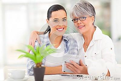Finanze della figlia della madre