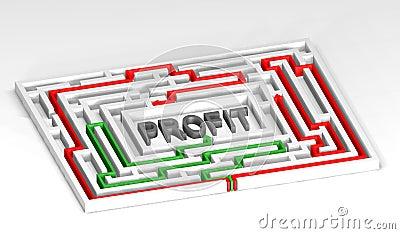 3d Maze Profit