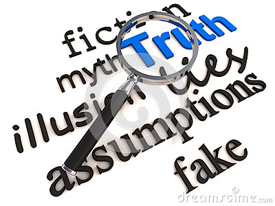 Find truth over lies and myth