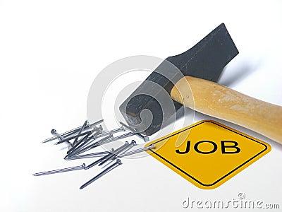 Finden eines Jobs