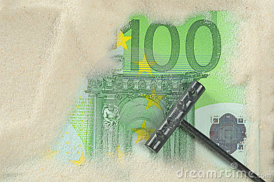 Finding hundred euros