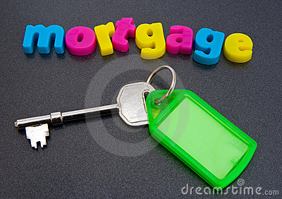Finding a mortgage.