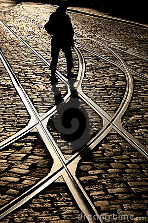 Free Finding The Right Track Royalty Free Stock Images - 5430189
