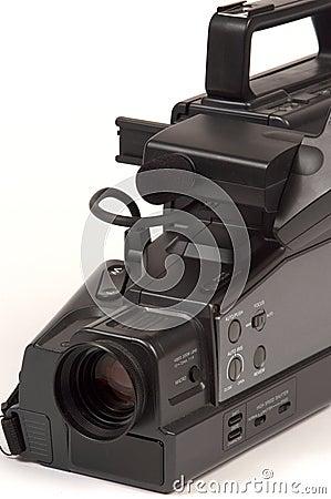 Fine della videocamera portatile di VHS in su
