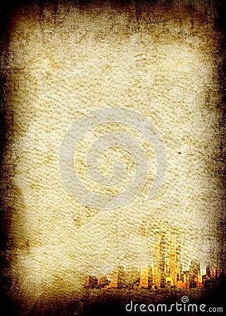 Fine image of old grunge paper