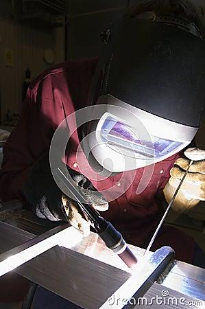 Free Fine-mechanic Welder Stock Images - 616954