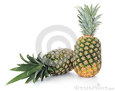 Fine ripe pineapples