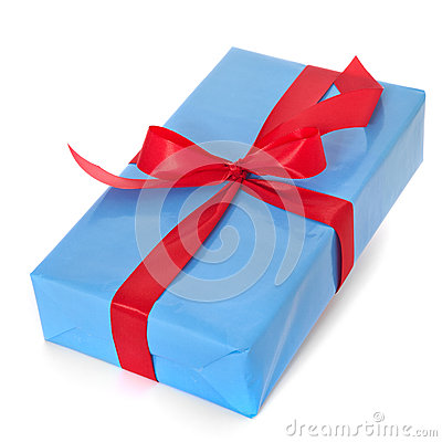 Free Fine Wrapped Present Stock Image - 47037821