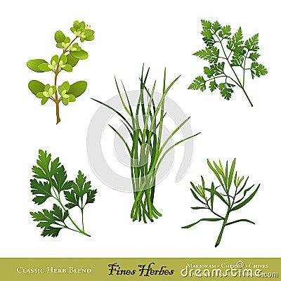 Fines Herbes, Herb Blend