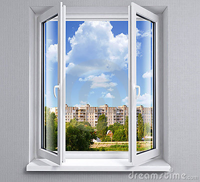 Finestra aperta fotografia stock immagine 2786370 - Blocca finestra aperta ...