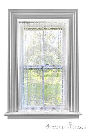 Finestra con la tenda di pizzo fotografie stock libere da diritti immagine 33443028 - La finestra biz ...
