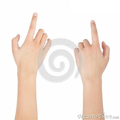 Finger click