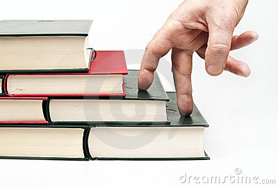 Finger climbing books