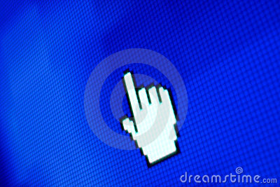 Finger corsor