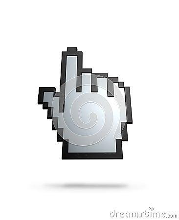 Finger cursor