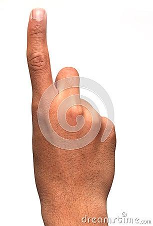 Finger: one