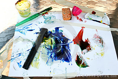 Finger Painting Tools