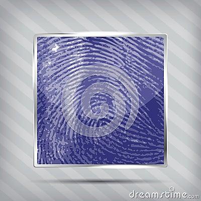 Finger print icon
