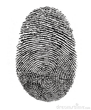 Free Finger Print ID Security Stock Image - 3203111