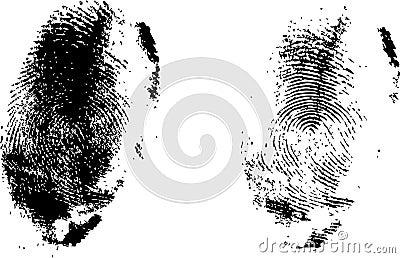 Finger prints set