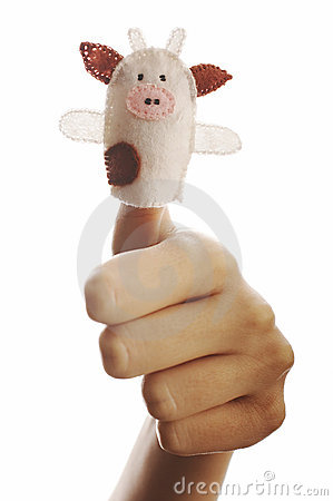 The finger puppet