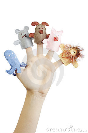 Free Finger Puppets Royalty Free Stock Photo - 1401955