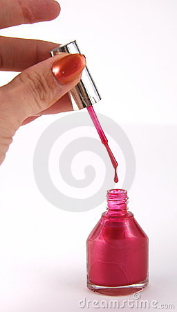 Free Fingernail Polish Stock Photography - 342012