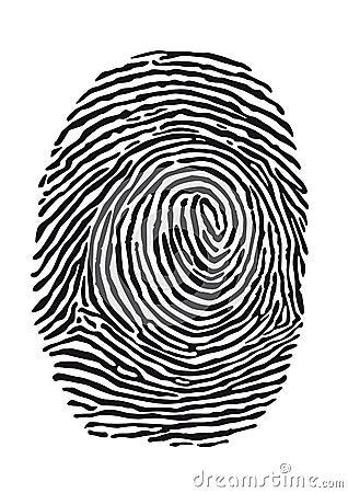 fingerprint royalty free stock photos image 35674308