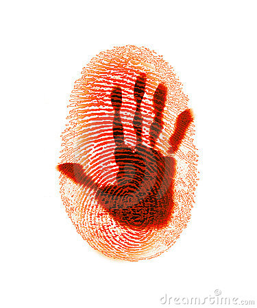 FingerPrint Security Crime Hacker