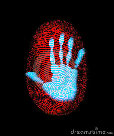 Fingerprint Security Hand Identity Theft