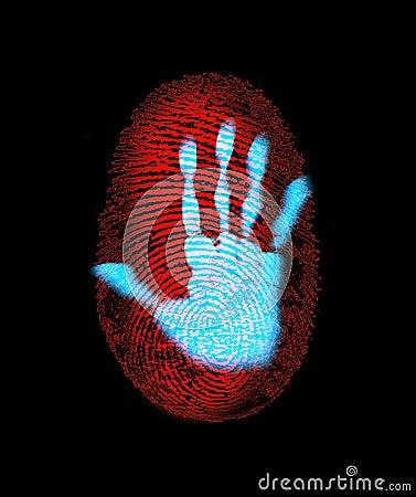 Fingerprint Security Hand Identity Theft
