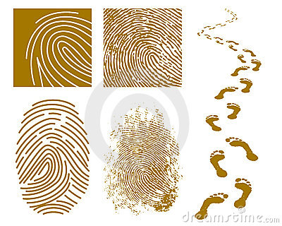 Fingerprints and Footprints