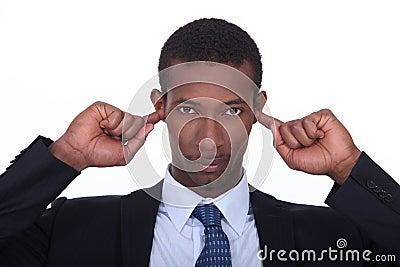 Fingers in ears