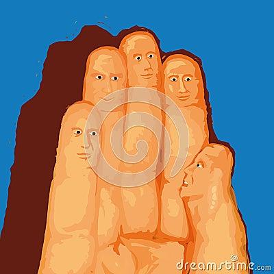 Fingers (vector)