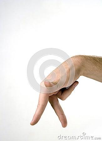 Fingers walking