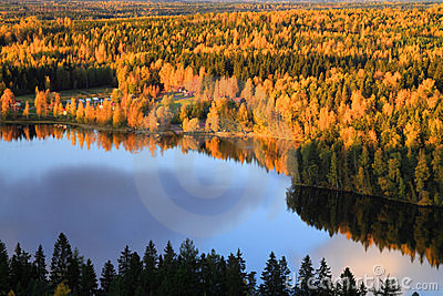 Finland: Autumn colors
