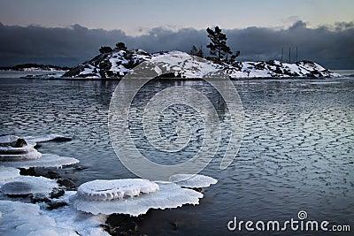 Finland: Frozen sea