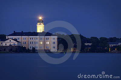 Finland: Summer midnight in Helsinki
