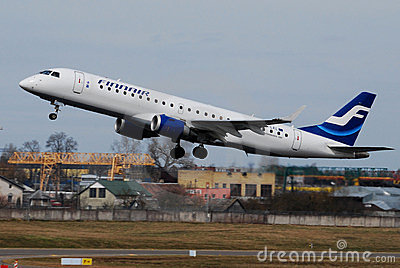 Finnair Embraer 170 Editorial Photo