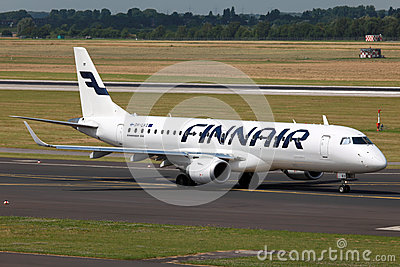 Finnair Embraer 190 Editorial Photo