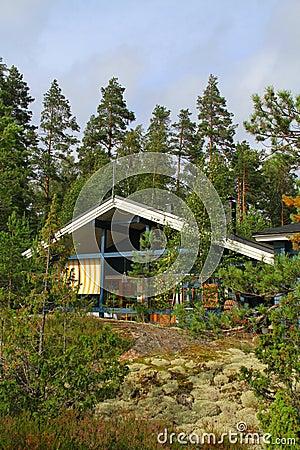 Finland/Saimaa: Modern Cabin