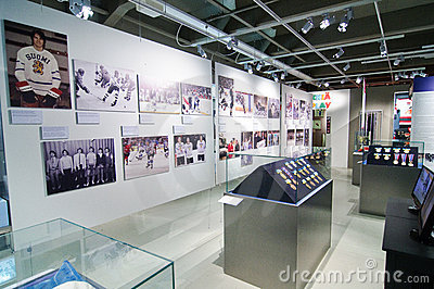 The Finnish Hockey Hall of Fame Editorial Stock Photo