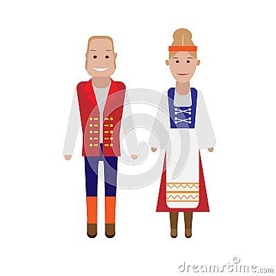 Finnish national costume