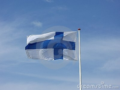 Finnish National Flag