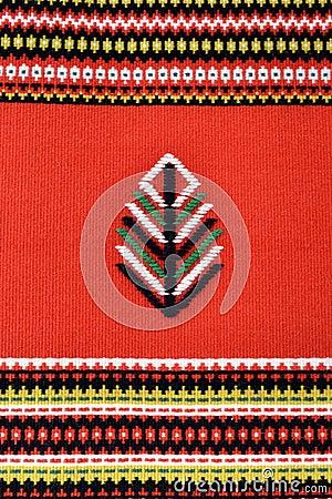 Finnish rug pattern texture